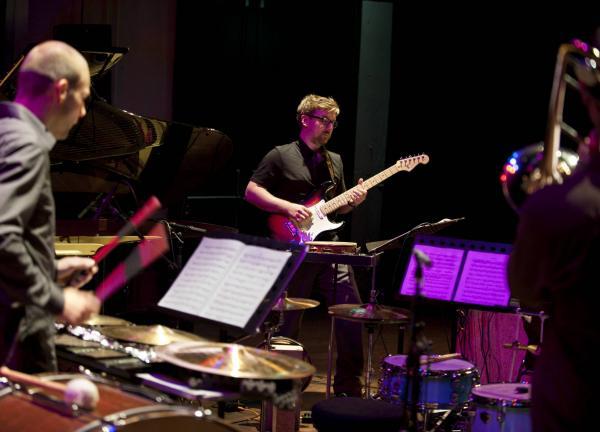 Ensemble Klang performing at the JdP