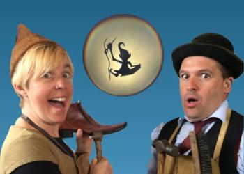 Image of characters in The Elves and the Shoemaker