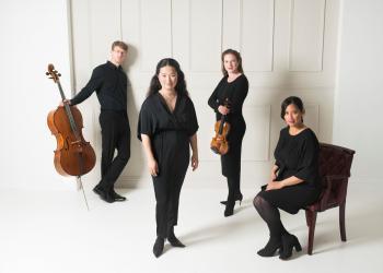 Image of Villiers Quartet members