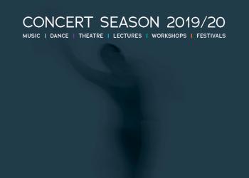 JdP Brochure front cover 'Concert Season 2019/20'