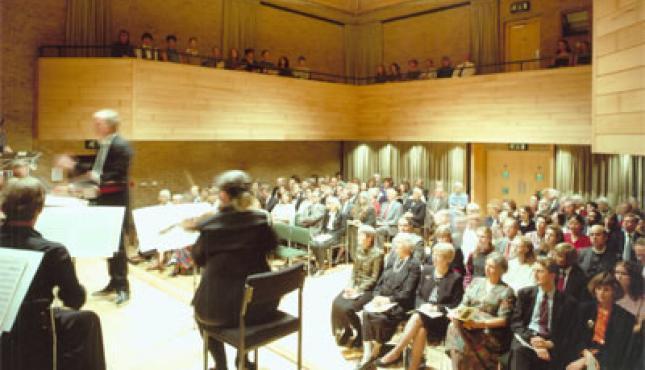 The JdP's Edward Boyle Auditorium