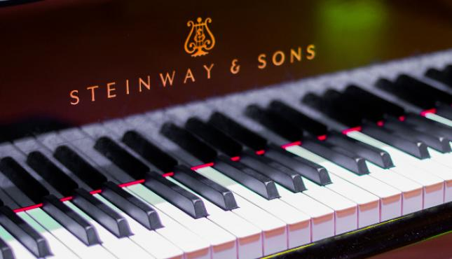 Steinway D at the JdP