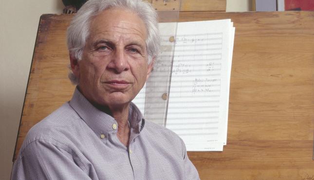 Composer Alexander Goehr