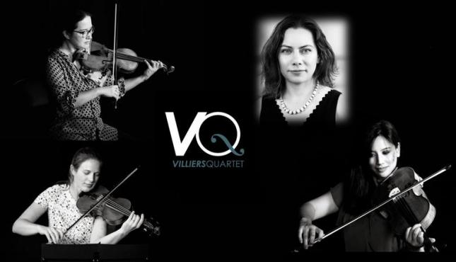 Image of Villiers Quartet members