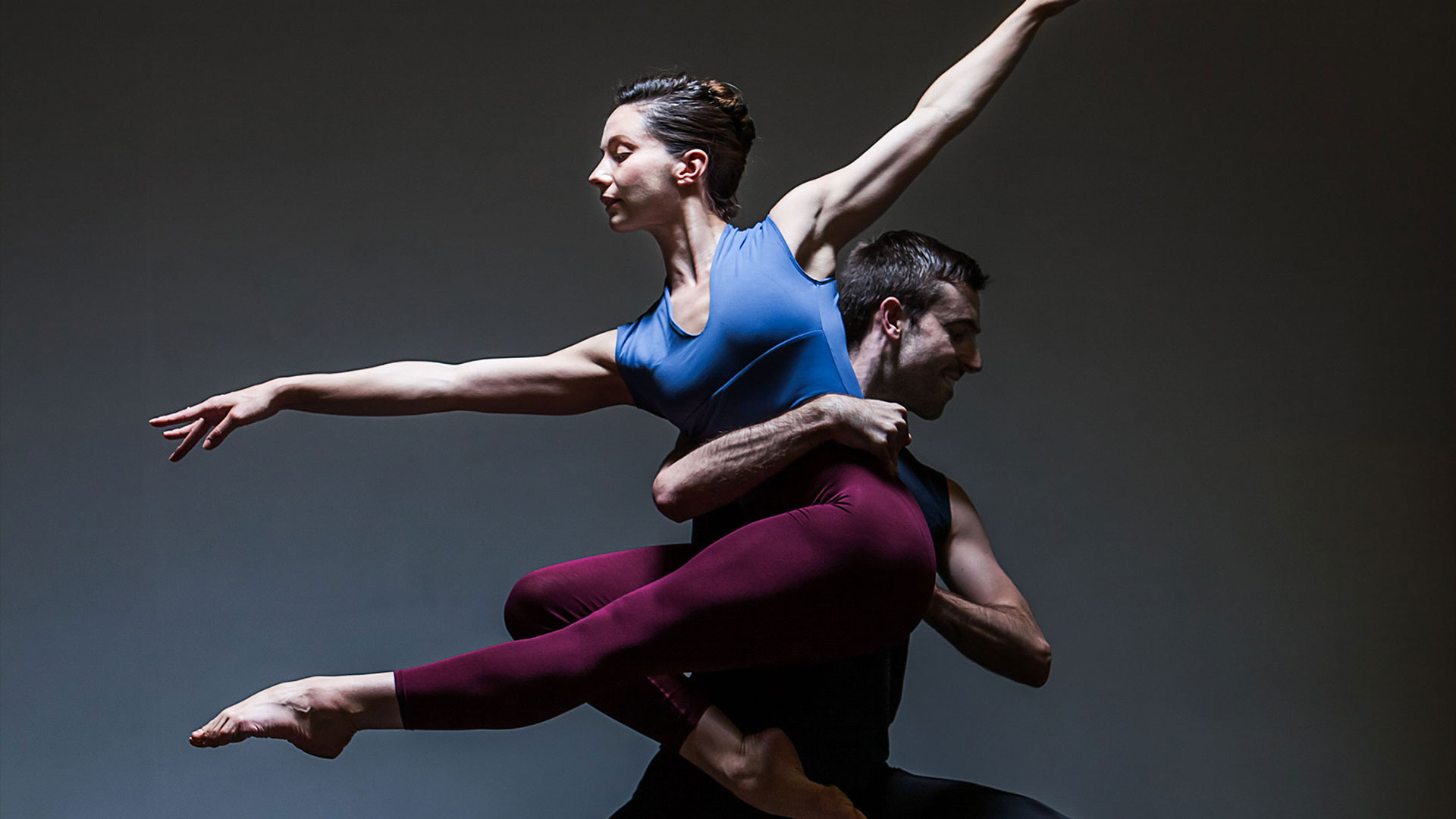 photo by Johnny Buzzerio of Edd Mitton and Amy Thake (dancers).